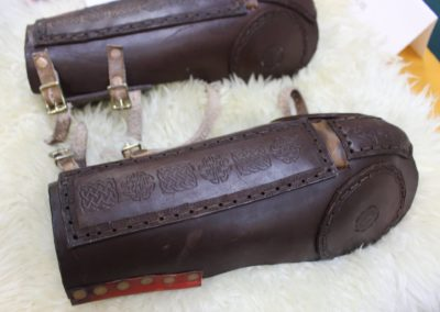 leatherwork, armor