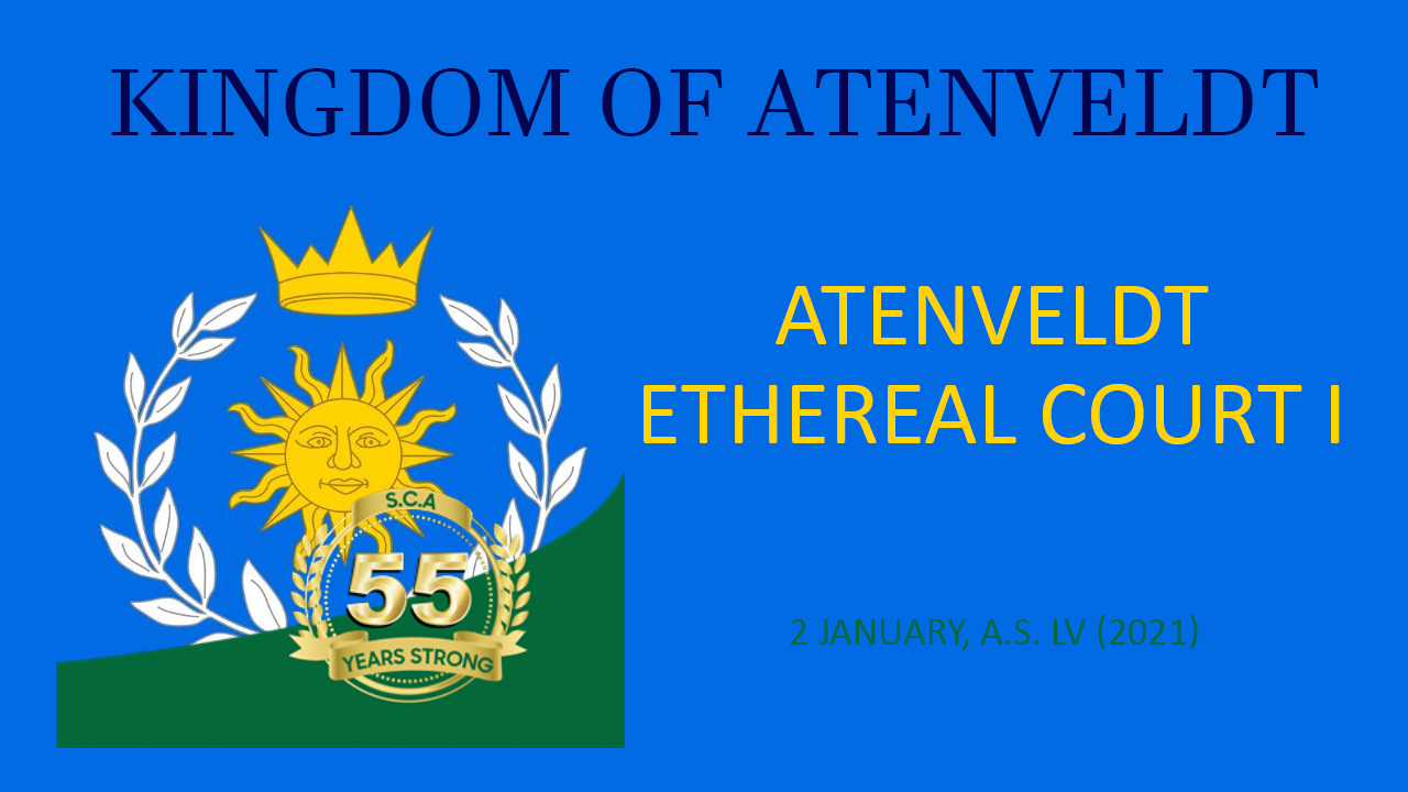 Atenveldt Ethereal Court I