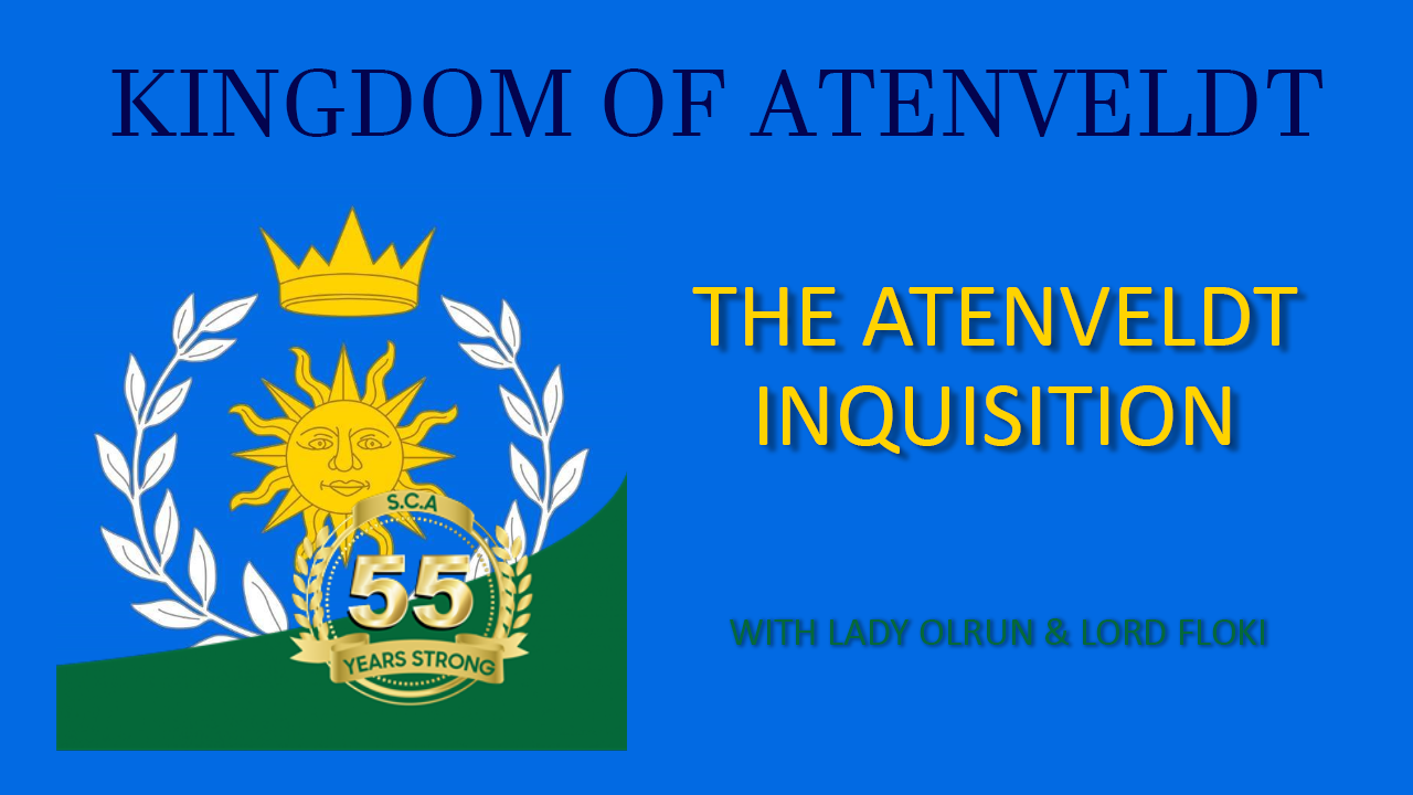 The Aten Inquisition with Lady Olrun & Lord Floki
