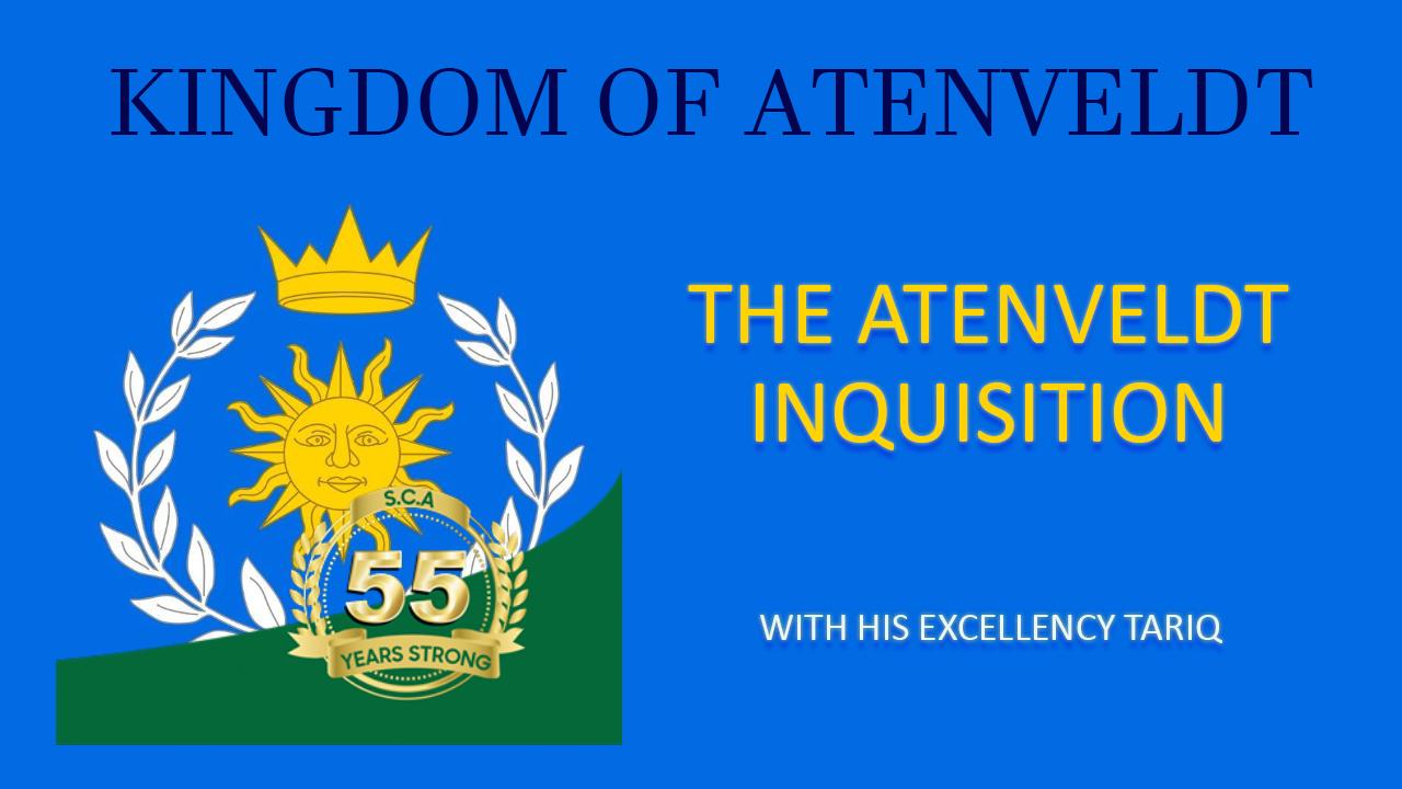 The Aten Inquisition with Tariq.